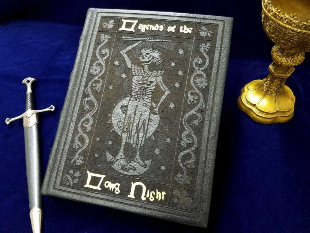 Legends-of-the-Long-Night-Game-of-Thrones-Book-Replica-Jon-Snow-Samwell-Tarly-Maester-Night-King-Targaryen-White-Walkers-Sketchbook-Journal-7